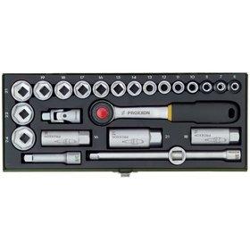 "Proxxon 3//8/"" Steckschlüsseleinsatz 24 mm"