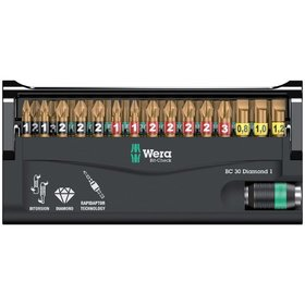 Wera® - Bit-Check 30 Diamond 1, 30-teilig