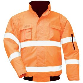 SAFESTYLE® - Warnschutz-Pilotenjacke TOM 23523, orange, M