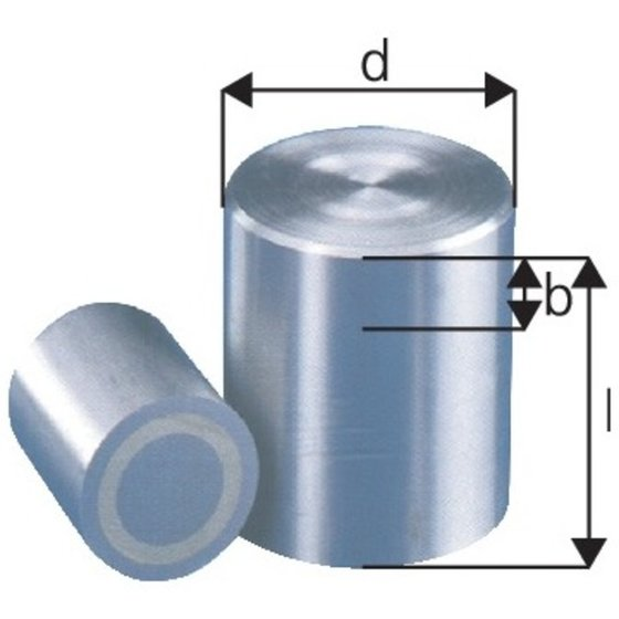 beloh Stabgreifer-Magnet 6 x 10mm