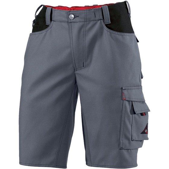Dunkelgrau-schwarze Shorts