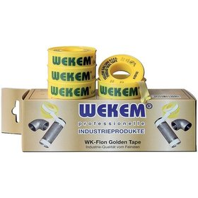 Wekem® - Golden Tape PTFE         Dicht.Band 12mmx12m