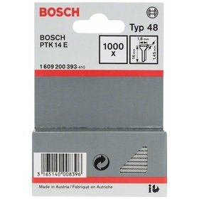 Bosch Tackernagel Typ 48, 1,8 x 1,45 x 14 mm, 1000er-Pack