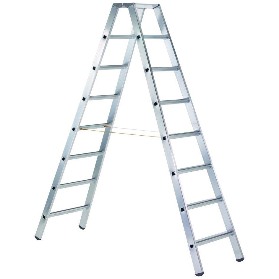 ZARGES LM-Stufen-Stehleiter 2 x 3 Stufen Z500