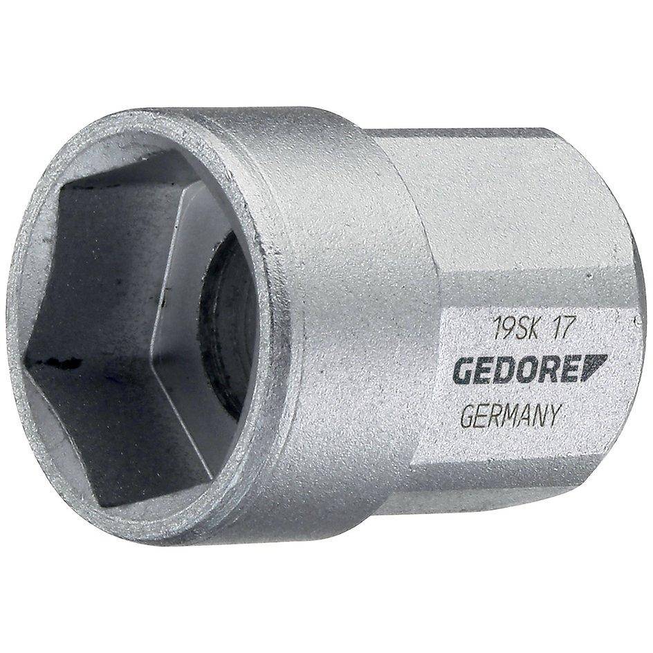"""GEDORE 1//2/"""" Zoll Sechskant Steckschlüssel Ø 17 mm"""