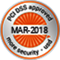 Logo PCI DSS approved