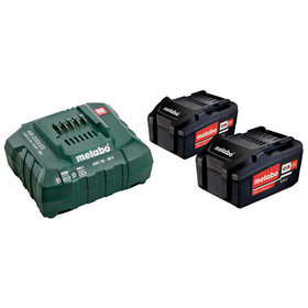 metabo® - Basis-Set 2 x 4.0 Ah (685050000)