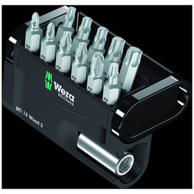 Wera® - Bit-Check 12 Wood 2, 12-teilig