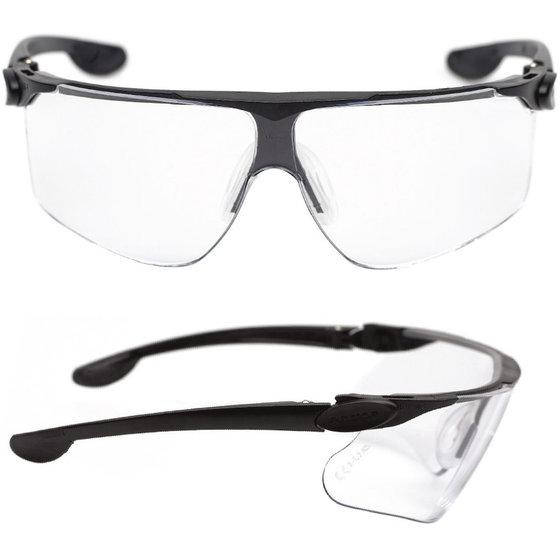 Vollsichtbrille mit klaren Sichtkörper von Schmerler