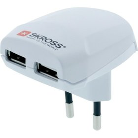 SKROSS® - Reiseadapter USB Charger 2,4A