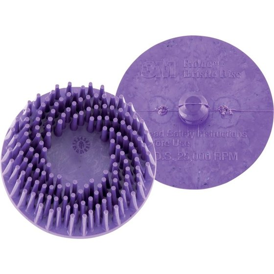 3M™ Bristle Disc ROLOC 50,8mm K 36 (violett)