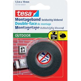 tesa® - Montageband Outdoor 1,5m:19mm