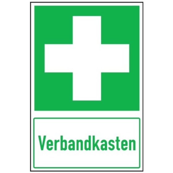SafetyMarking® Schild Verbandkasten, Alu 300x200mm