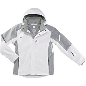 Soft-Shell Winterjacke, Gr.3XL,white-gr.