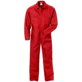 KANSAS® - Industrieoverall 875, rot, T_M