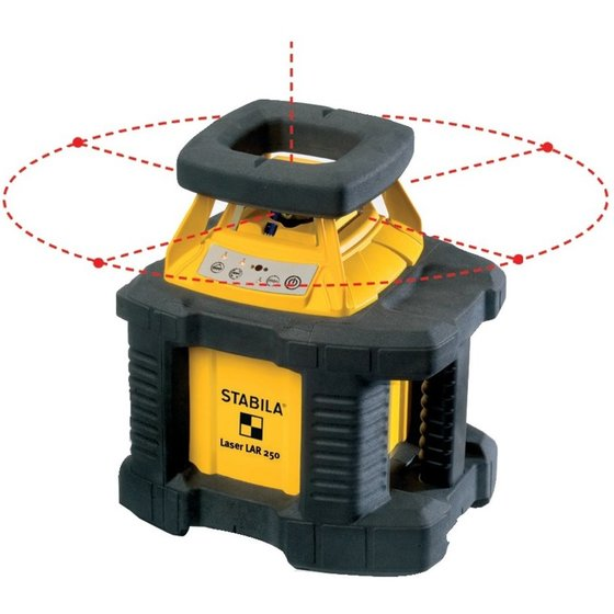 STABILA® Rotationslaser LAR 250 + Receiver REC300