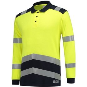 Tricorp - Poloshirt Multinorm Bicolor 203003 Fluor Yellow-Ink Gr. 4XL
