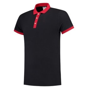Tricorp - Poloshirt Bicolor Slim Fit 201002 Navy-Red Gr. XS