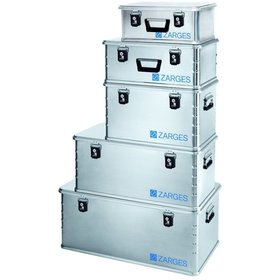ZARGES - Alubox Mini-Box XS L500xB340xH200mm, innen L450xB290xH180mm, 24 Liter