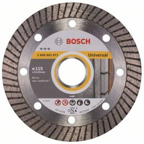 Bosch -  - Diamanttrennscheibe Best for Universal Turbo, 115 x 22,23 x 2,2 x 12 mm
