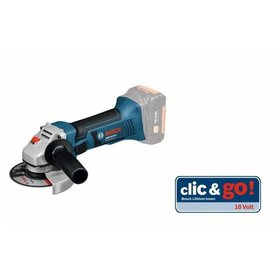 Bosch - Akku-Winkelschleifer GWS 18-125 V-LI, Solo Version, in L-BOXX