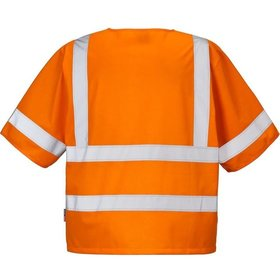 FRISTADS® KANSAS® - Weste 500 NV, 100 % PES, warnschutz-orange, Gr. 3XL