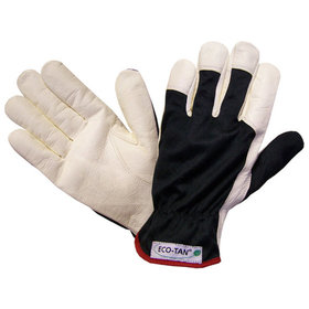 Hase Safety Gloves - Montagehandschuh DRIVER ECO-TAN®, Kat. I, weiß, 10