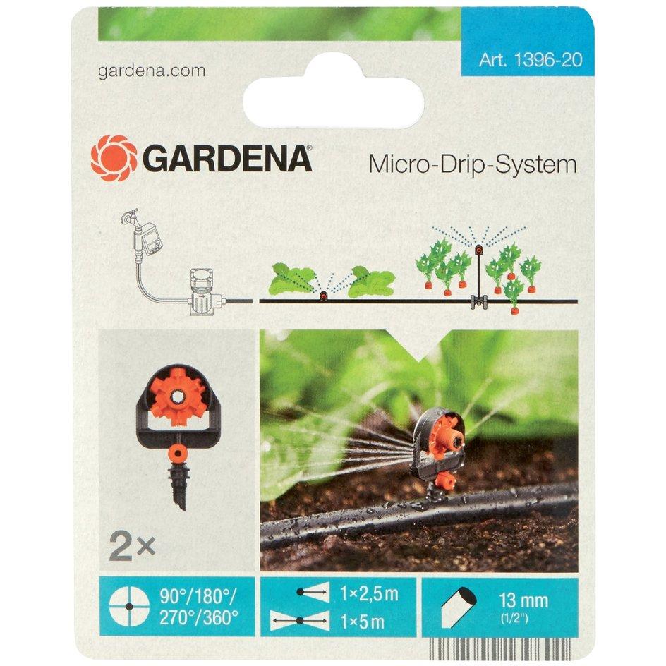 "Gardena 6-Flächen-Sprühdüse /""Micro-Drip-System/"" 1396-20"