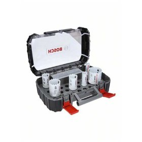 Bosch - Lochsägen-Set Endurance for Heavy Duty, 8-teiliges Universalset, 22 - 68 mm