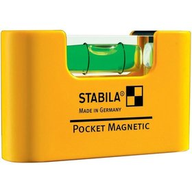 STABILA® - Mini-Wasserwaage Pocket Magnetic 7cm