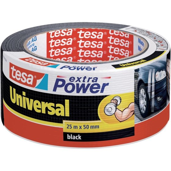 tesa® extra Power schwarz 10mx50mm Universal