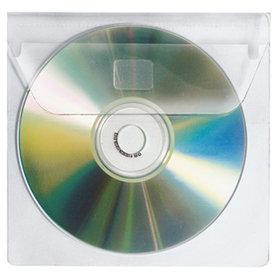 VELOFLEX® - CD/DVD Hülle 2259000 1CD PP glasklar 10 St./Pack.