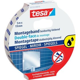 tesa® - Montageband transparent 5m:19mm