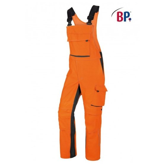 BP(R) - Latzhose 2611 833 orange-anthrazit- Grösse 62n