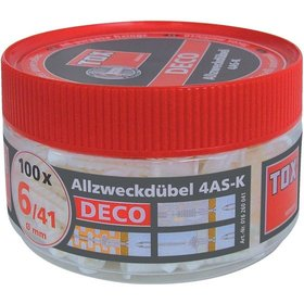 TOX - Allzweckdübel 4 AS-K 10/66 in Runddose