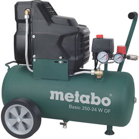 metabo® - Kolbenkompressor (mobil) Basic 250-24 W OF, Metabo