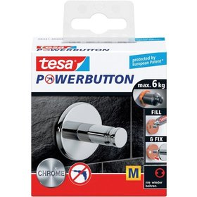 tesa® Powerbutton Haken        Medium Universal