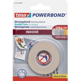 tesa® Montageband Indoor 1,5m:19mm