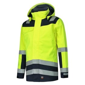 Tricorp - Parka Multinorm Bicolor 403009 Fluor Yellow-Ink Gr. L