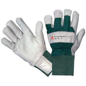 Hase Safety Gloves - Forsthandschuh Forest Worker I, Kat. II, grau, 10