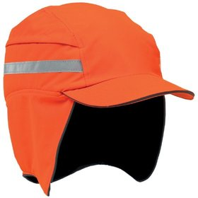 Scott Safety - Anstoßkappe FIRST BASE 3 HC23 WIN/RP, kurzer schirm, leuchtorange