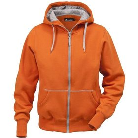 FRISTADS® KANSAS® - Damen-Sweatjacke 1746, orange, L