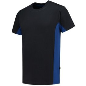 Tricorp - T-Shirt Bicolor 102004 Navy-Royalblue Gr. L