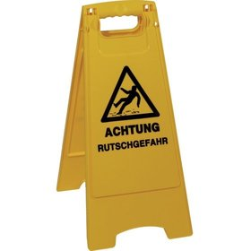 EVO-PRODUCTS - ABS-Warnschild Caution Wet Floor