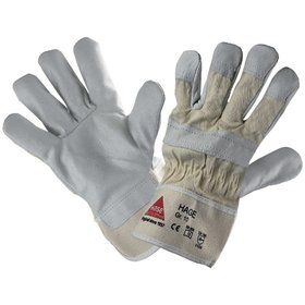 Hase Safety Gloves - Mechanischer Lederhandschuh, Kat. II, beige, 10